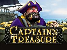 Captains Treasure играть на деньги в клубе Эльдорадо